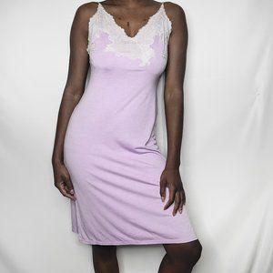 Natori Lavender Slip Dress